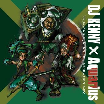 【DJ KENNY CDジャケットデザイン】  <p>ジャマイカ出身で世界で活躍されるDJ KENNYとAquariusのMIXCDのデザインを担当させて頂きました。</p>